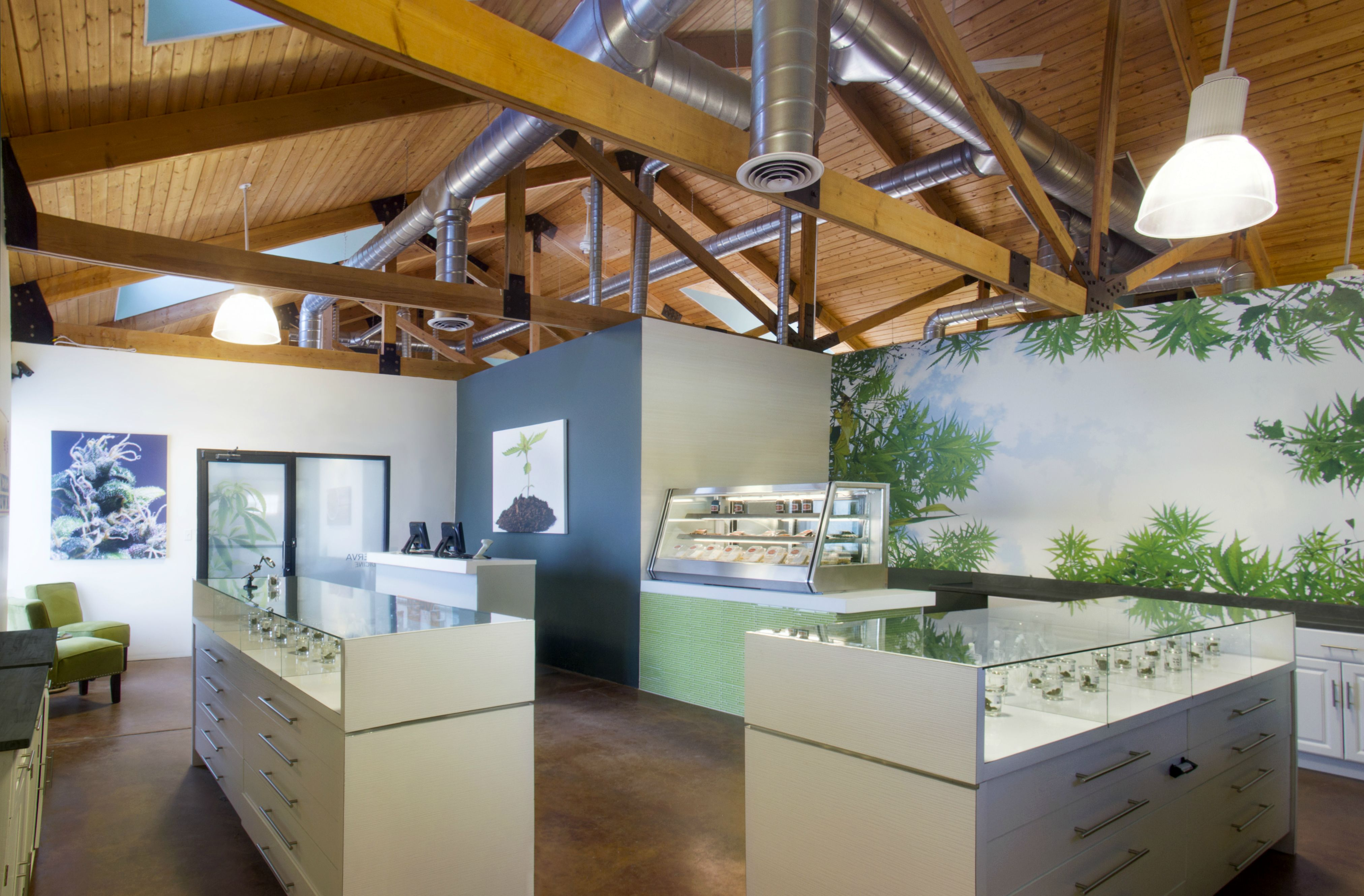 These 10 Marijuana Dispensaries Break Stereotypes With High Design