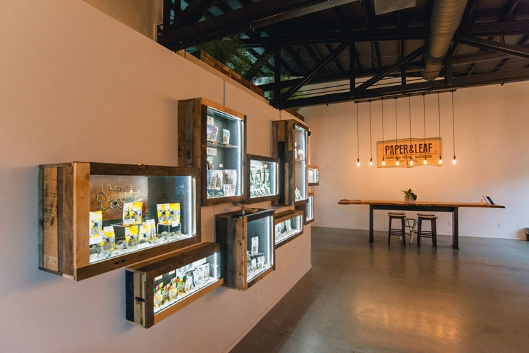These 10 marijuana dispensaries break stereotypes with high design curbed - Cannabis interior ...