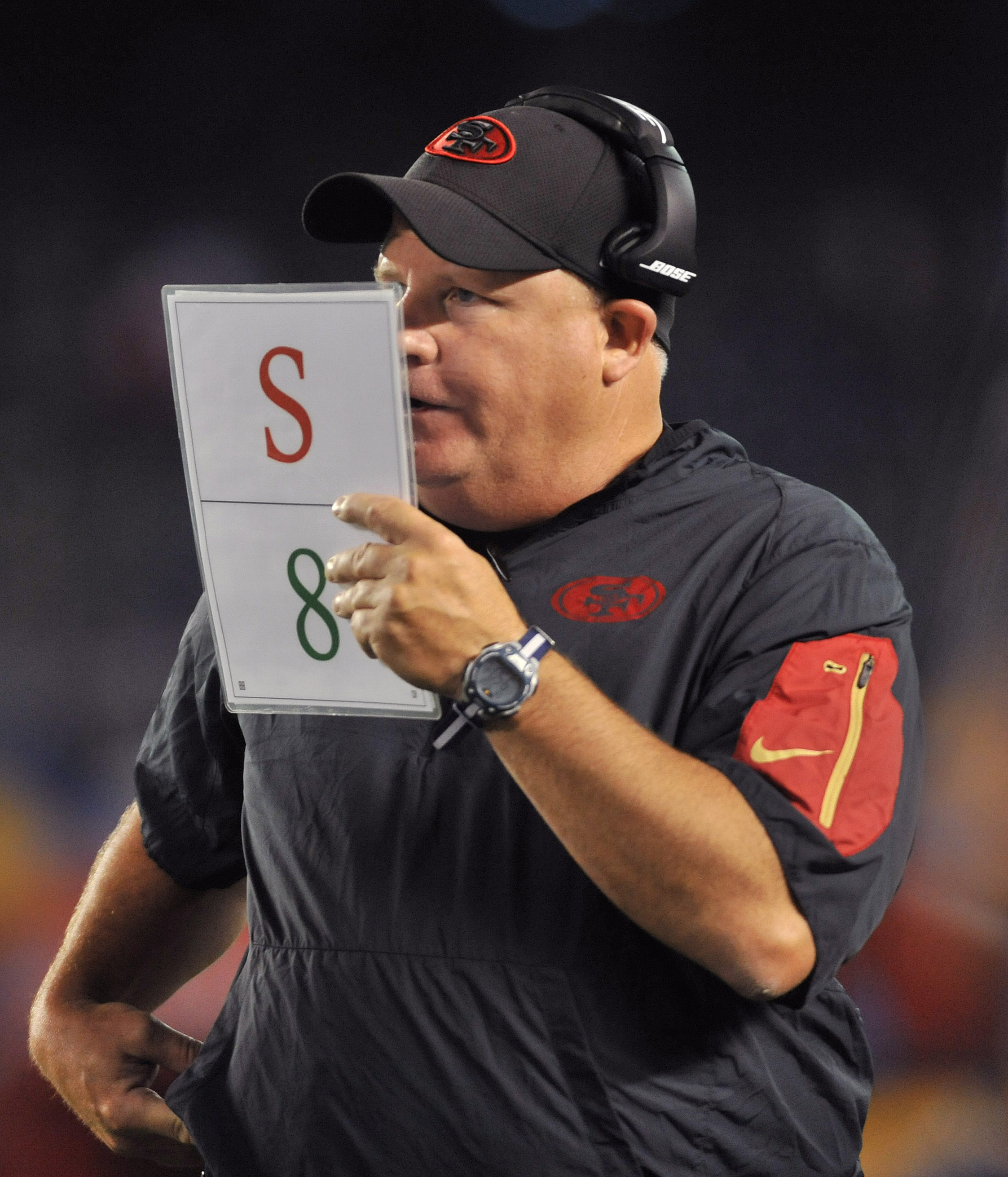 Chip Kelly offers sort of explanation about the S & 8 on ...