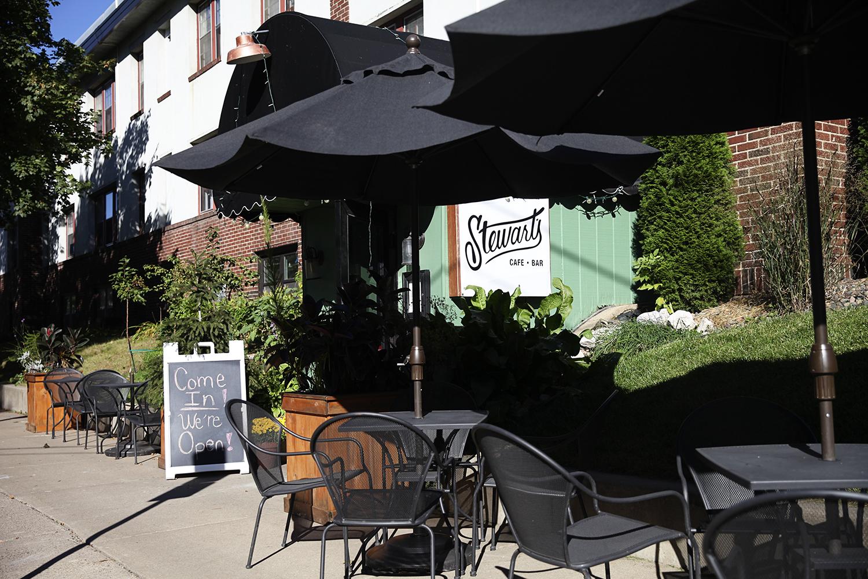 Stewarts Cafe St Paul Menu