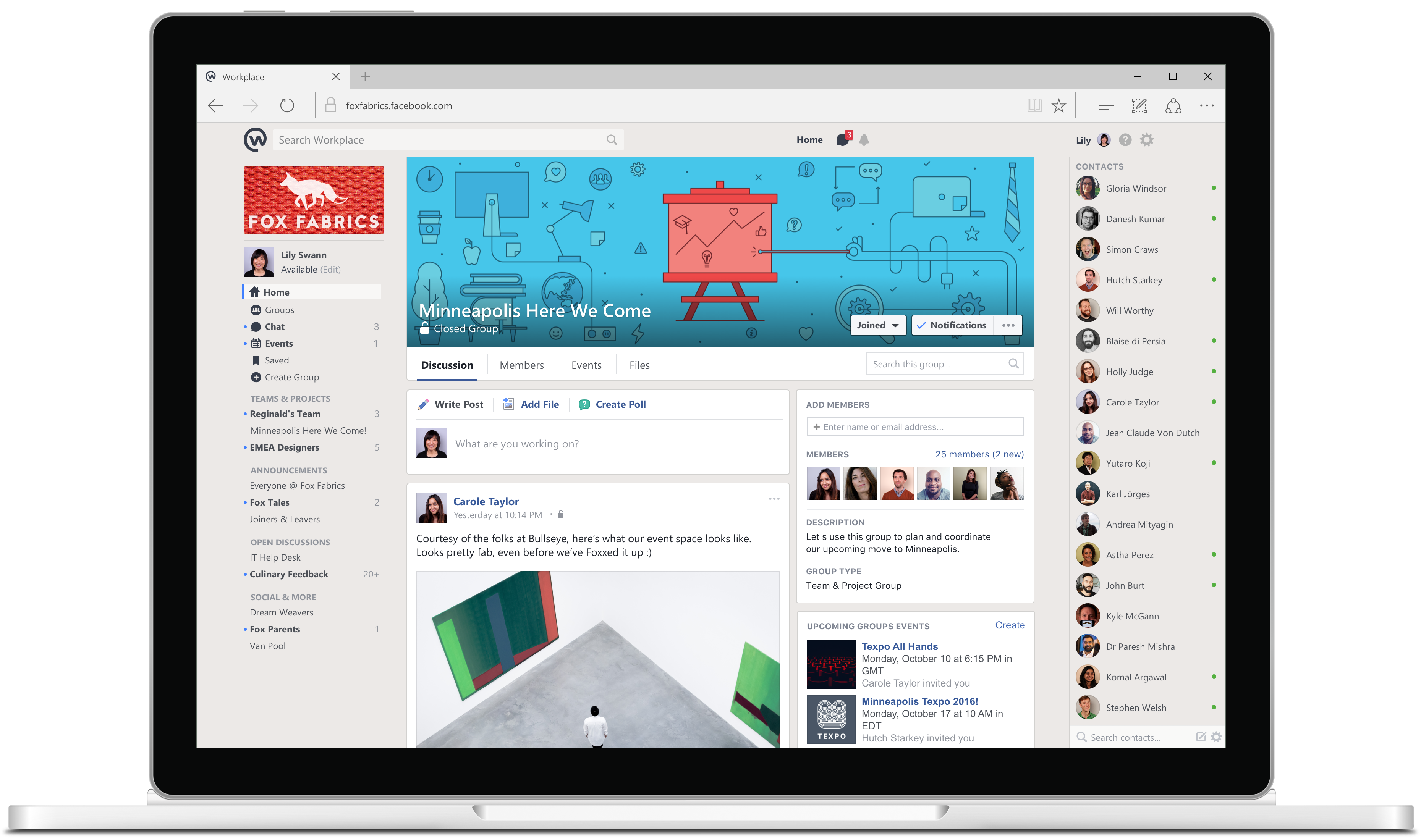 Facebook's Slack competitor, Workplace, is finally here - Recode