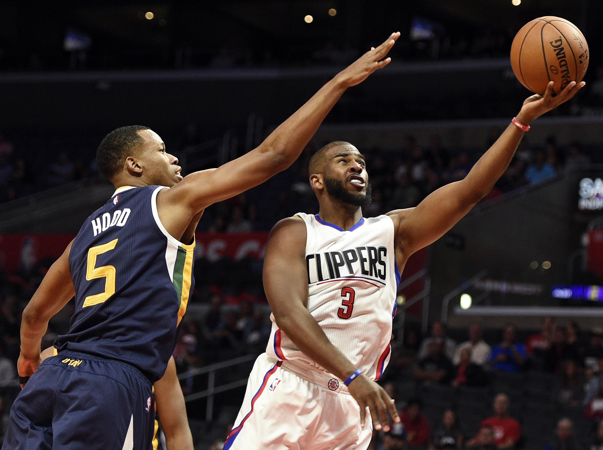 Utah Jazz  Los Angeles Clippers  Game Recap Dante Exum Steals - Los angeles to utah map