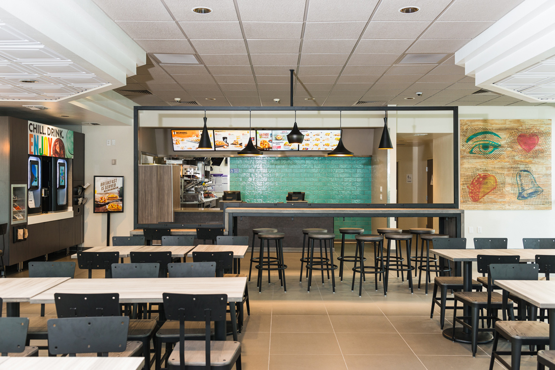 taco bell unveils new look complete with outdoor fireplaces eater