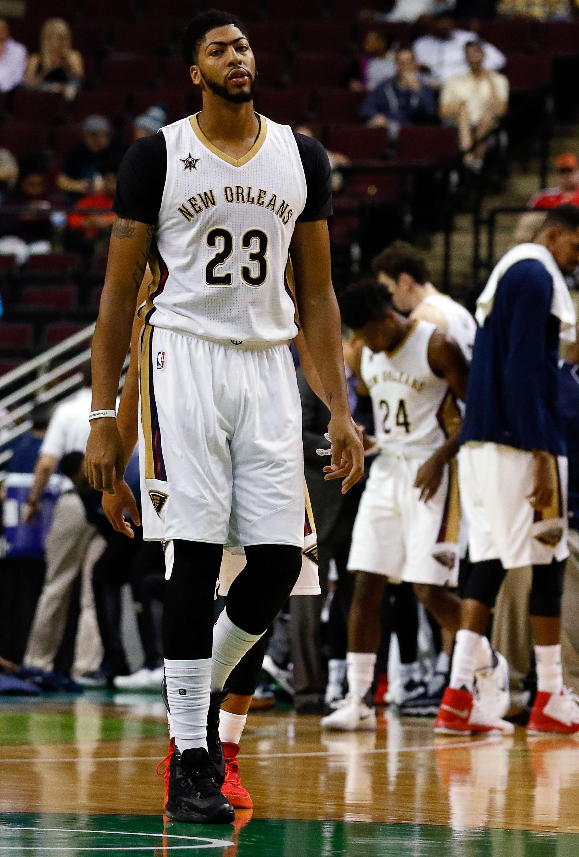 NBA: Preseason Dallas Mavericks At New Orleans Pelicans
