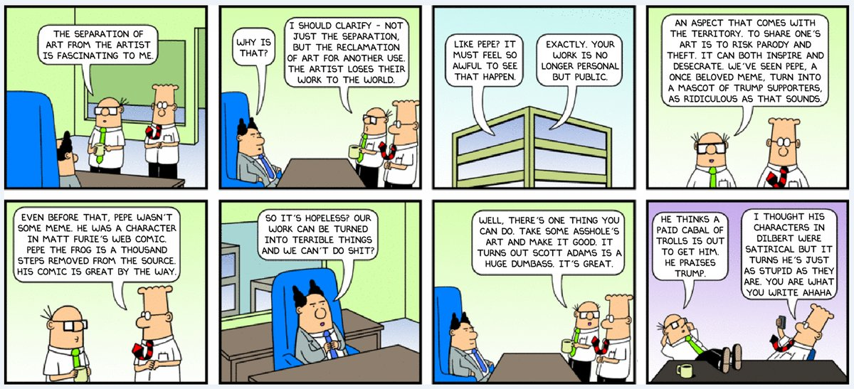 Dilbert  ics By Scott Adams furthermore The Weekly Funnies On Hot Peppers A Guest Dilbert Strip furthermore Best Of Dilbert  ic Strip in addition Dilbert Pointy Haired Boss  ics in addition 4. on dilbert comic strip for today