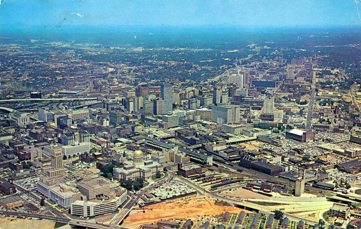 atlanta s rising skyline through the years in photos curbed atlanta. Black Bedroom Furniture Sets. Home Design Ideas