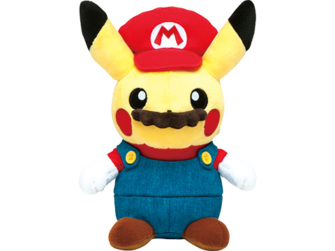 take a look at the limited edition mario pikachu merchandise