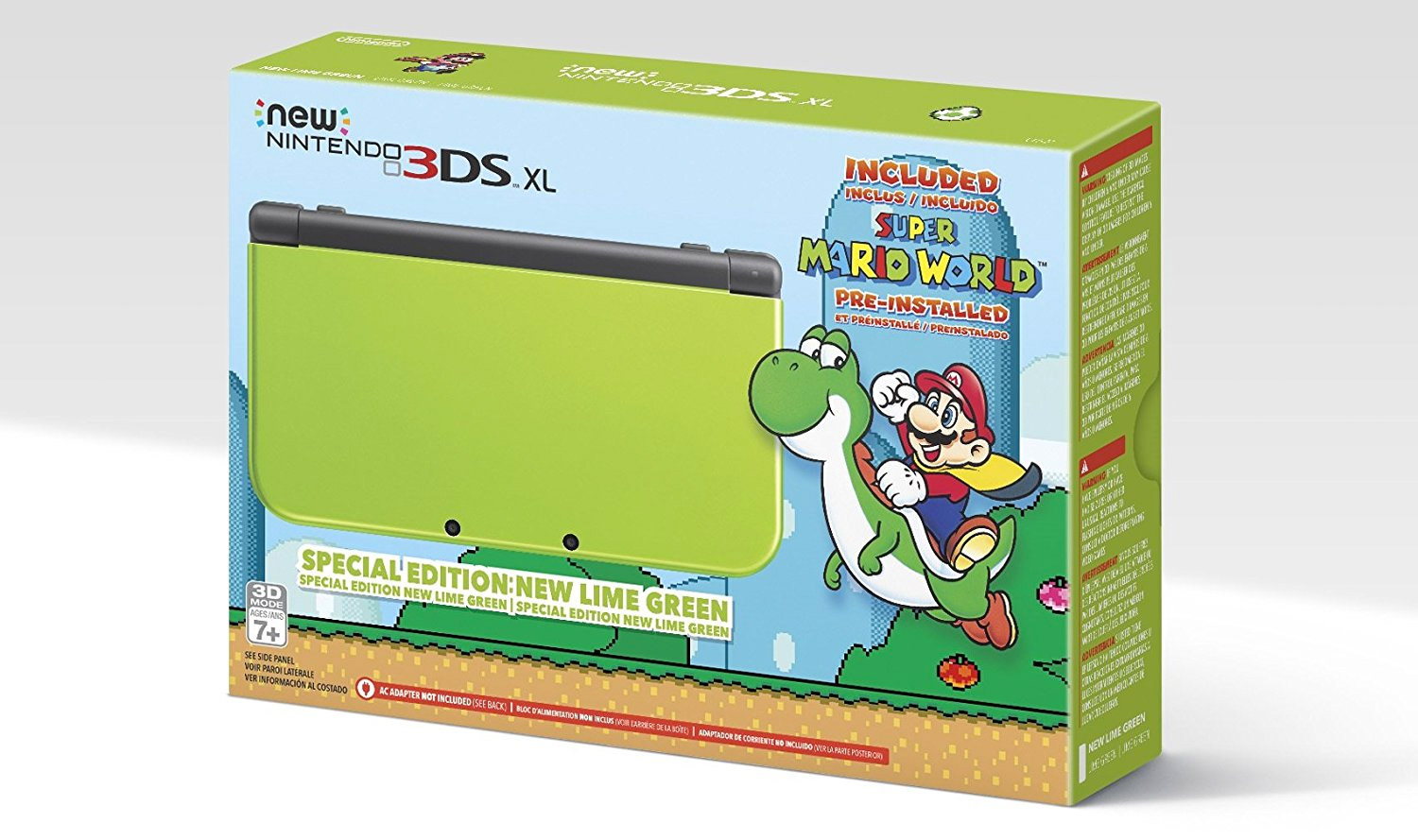 amazon�s exclusive lime green new nintendo 3ds xl comes