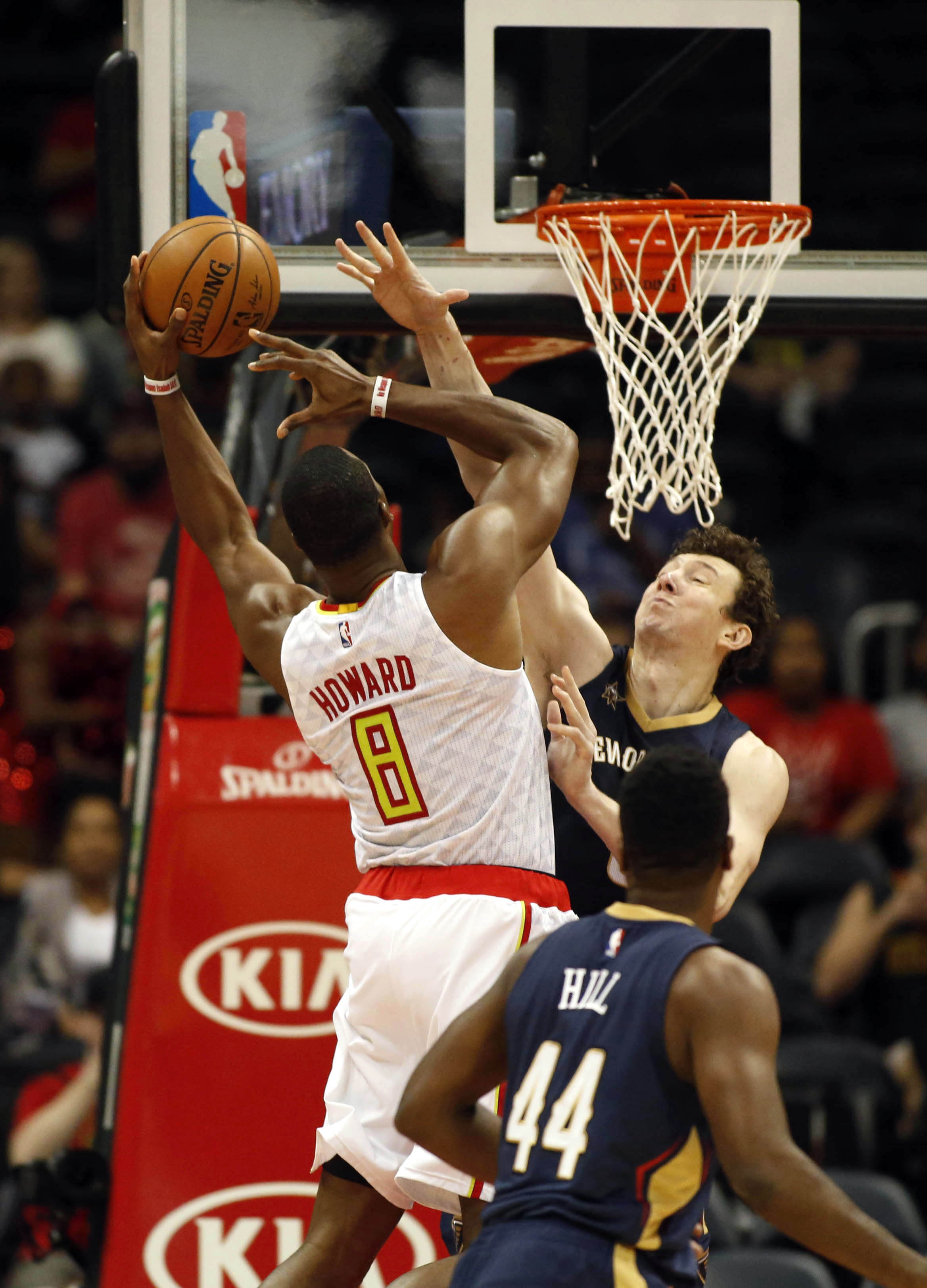 NBA: Preseason New Orleans Pelicans At Atlanta Hawks