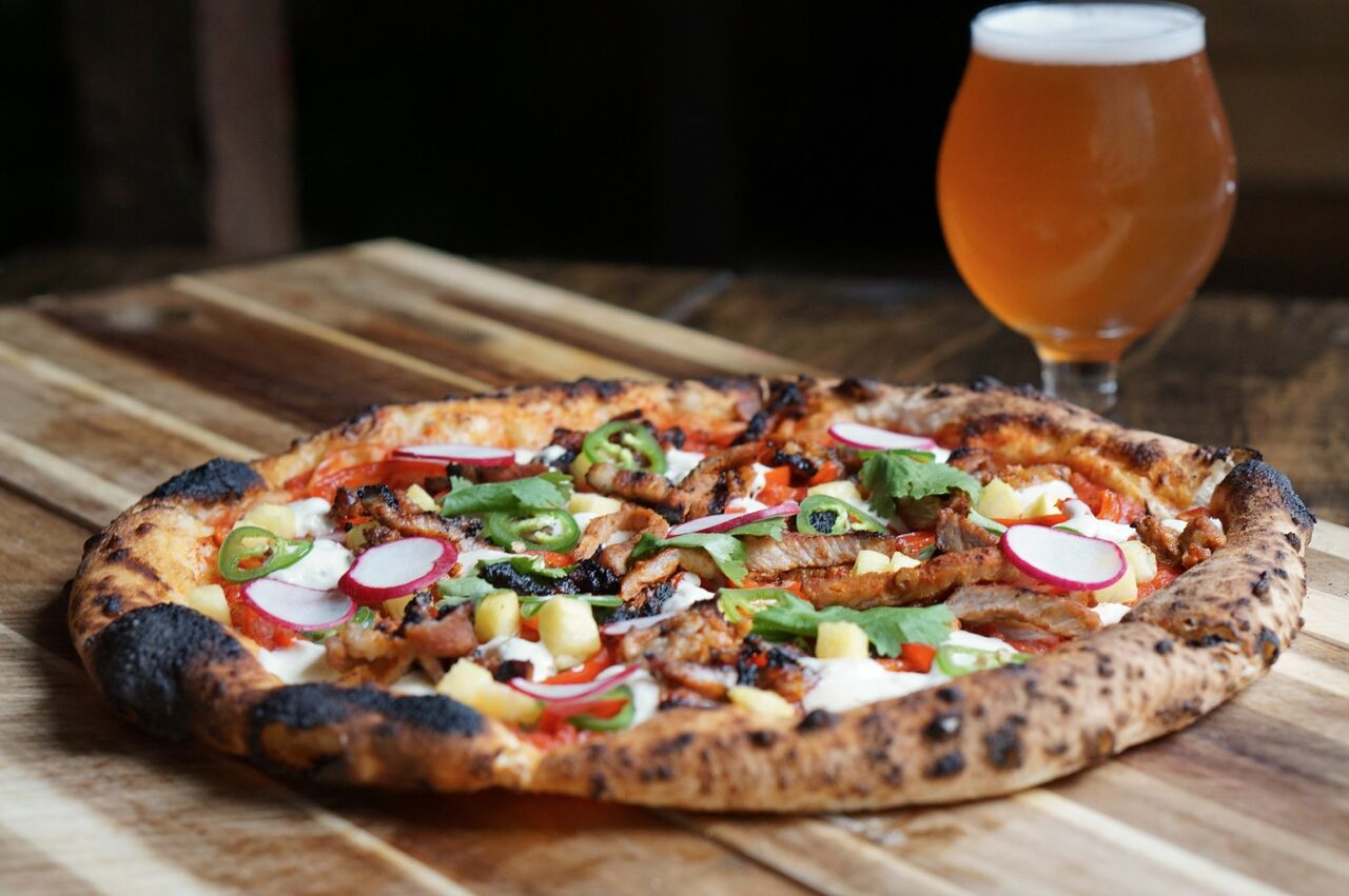 Craft Beer And Pizza