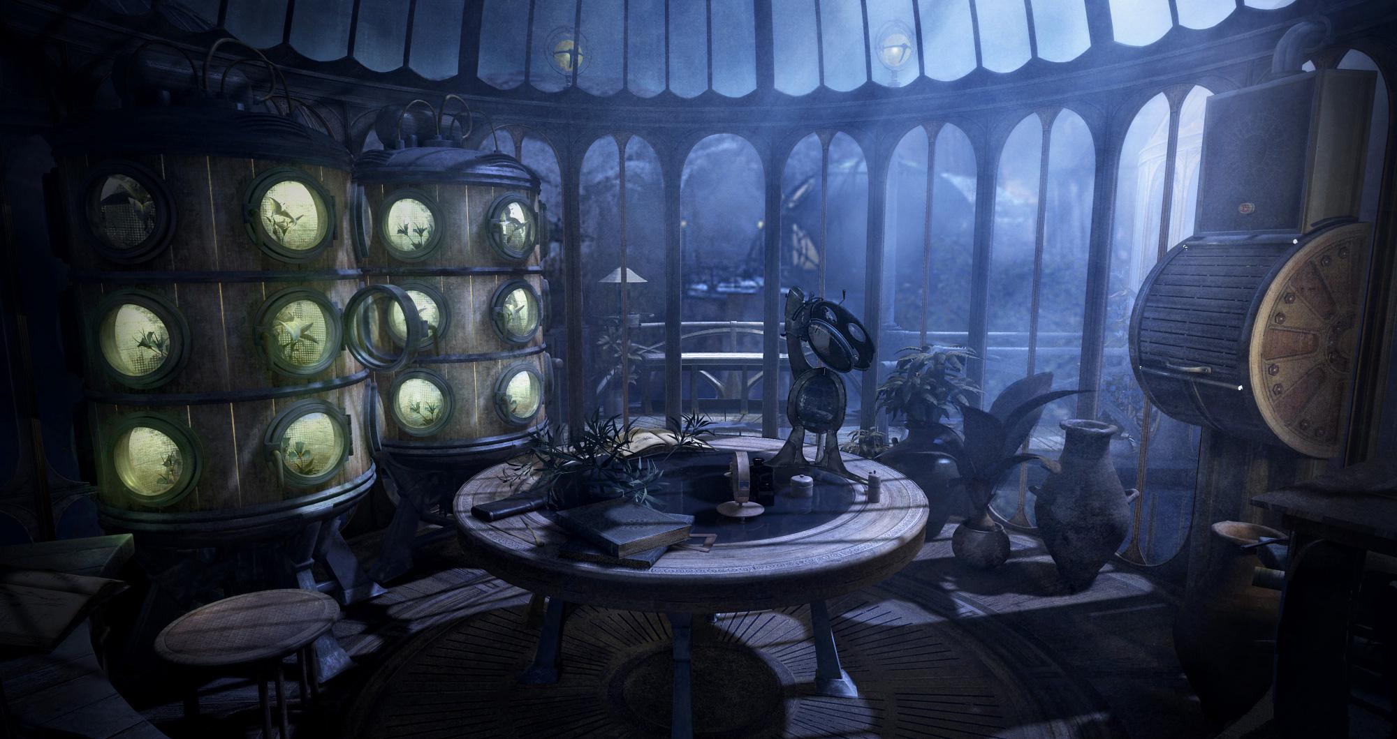 Myst  Clock Room