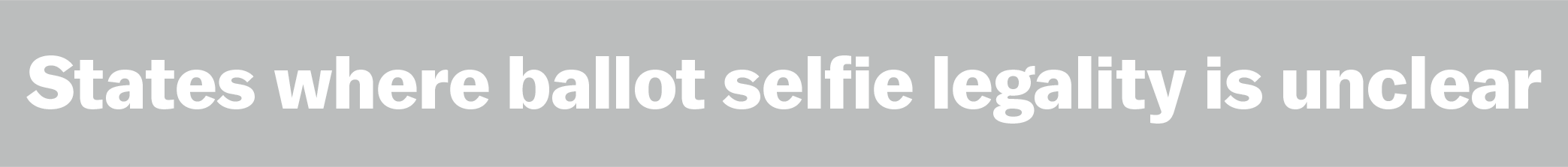 Your Ballot Selfie Could Get You Arrested In These States Heres - Noselfies 9 places where selfies are banned