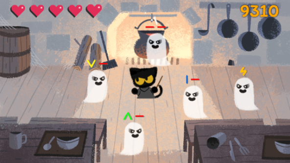 Google is celebrating Halloween with an adorable, ghastly game ...