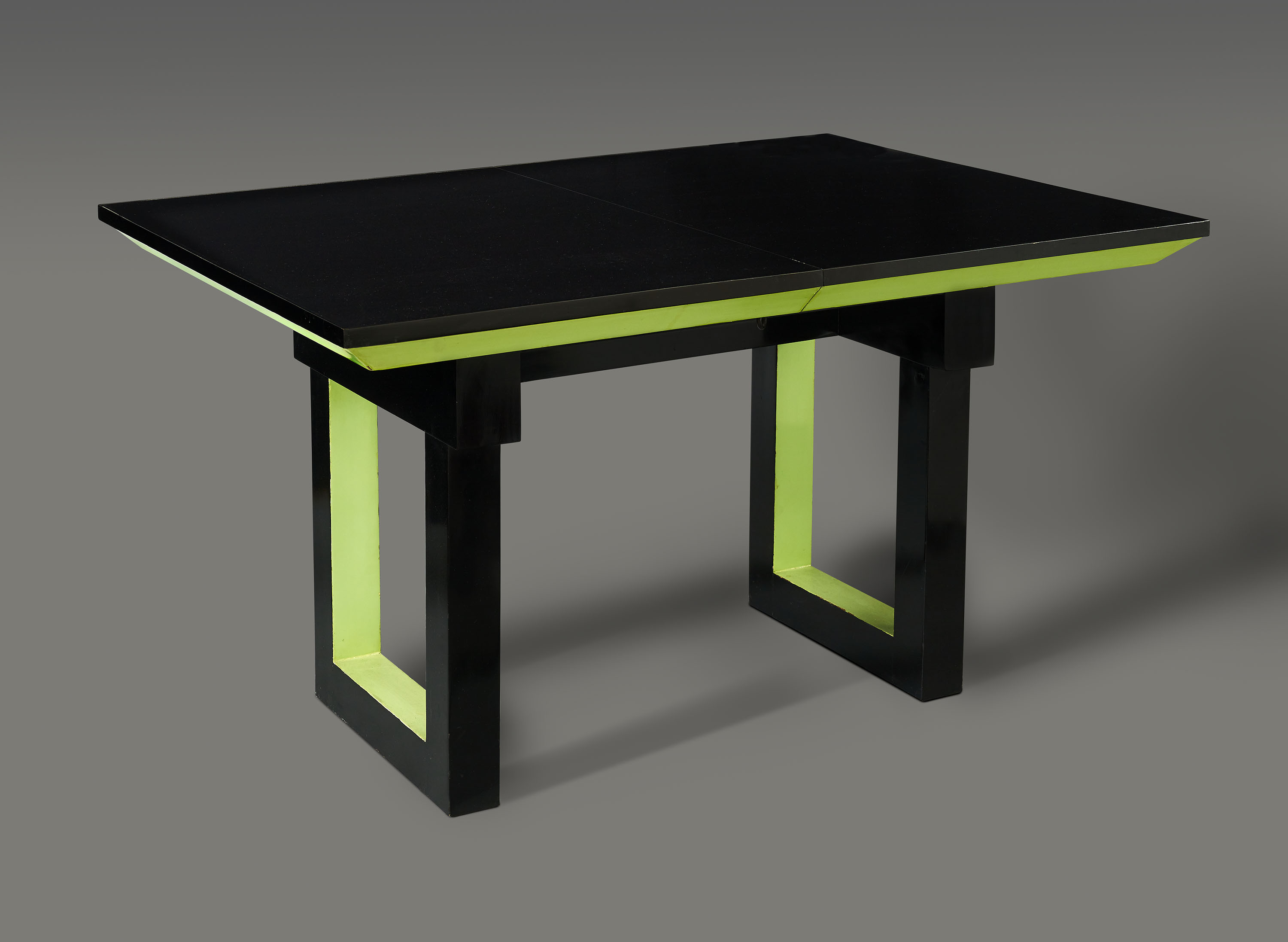 Good this table is among the furnishings on display in the for Table verre ikea
