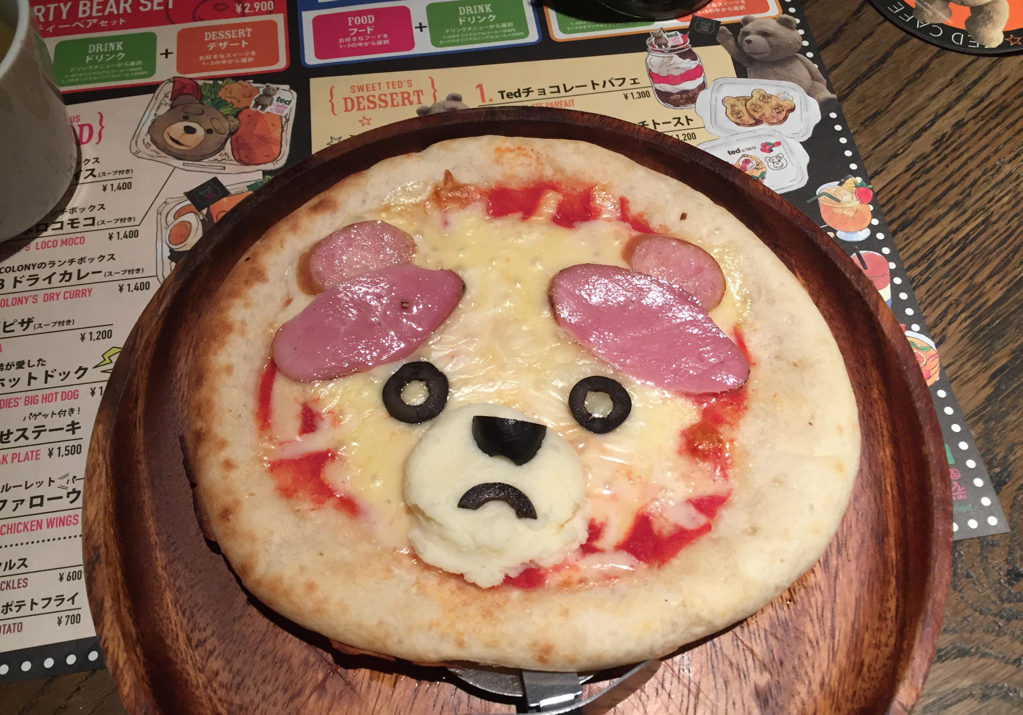 Inside the \'Ted\'-Themed Cafe Taking Over Japanese Social Media - Eater