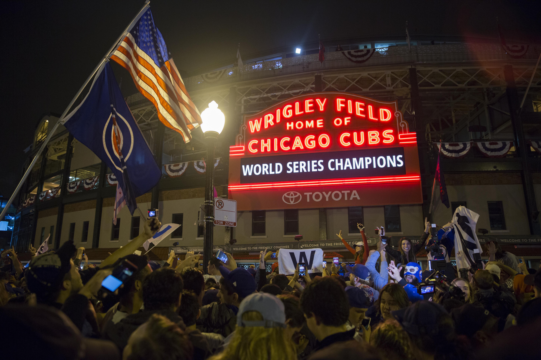 Wrigley Field World Series Field Wallpaper Hd 2018