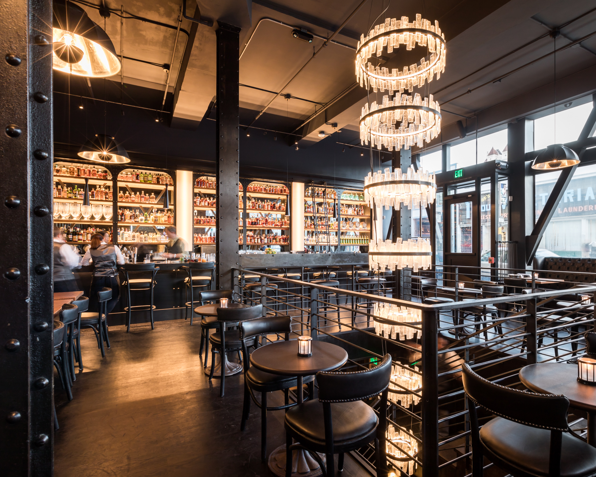 The Saratoga Delivers Two Levels Of Swanky Supper Club