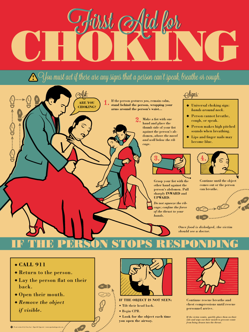 Poster design nyc - Choking Posters Are Required By Law But They Need Not Be Boring