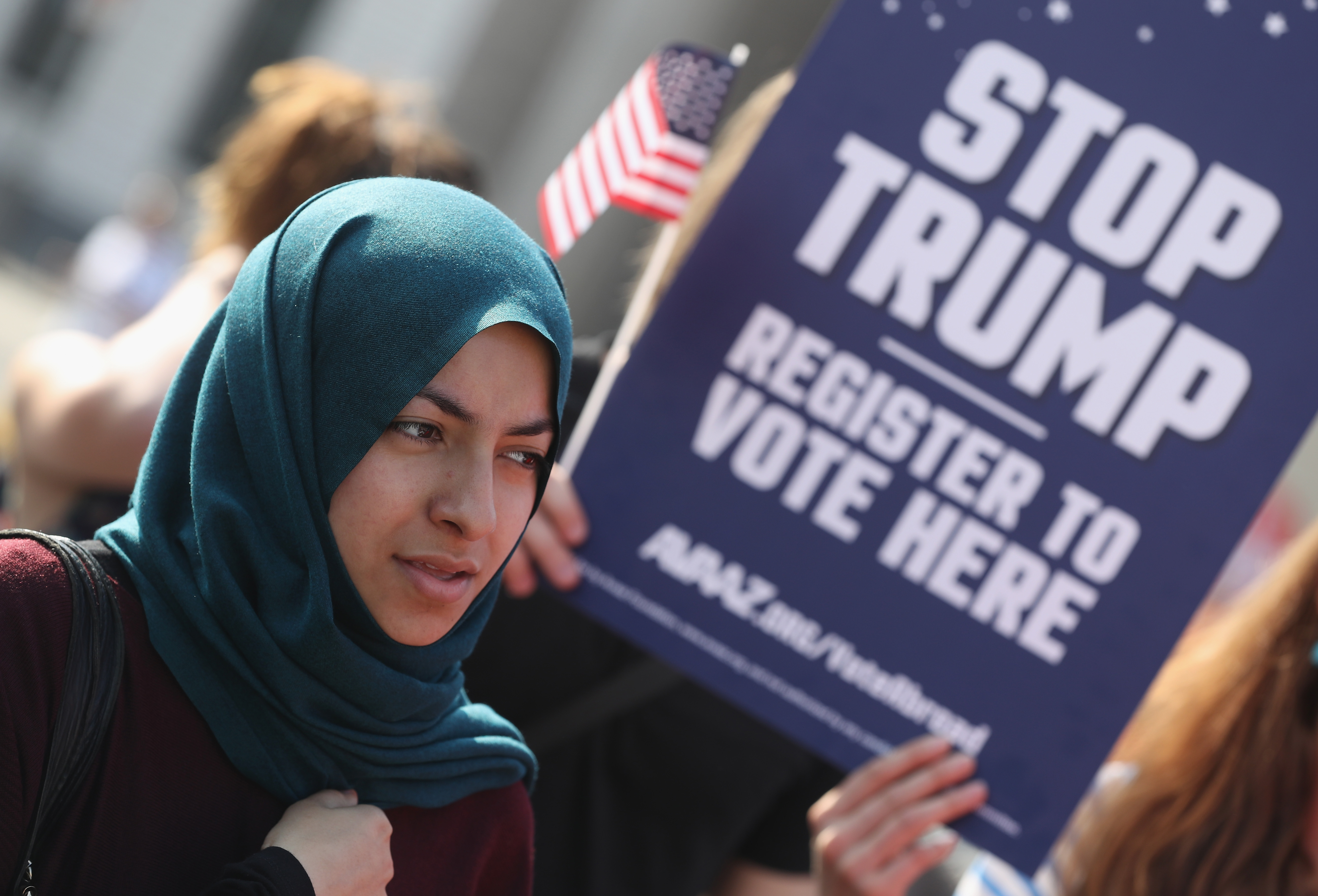 Muslim immigrant woman first time Desperate