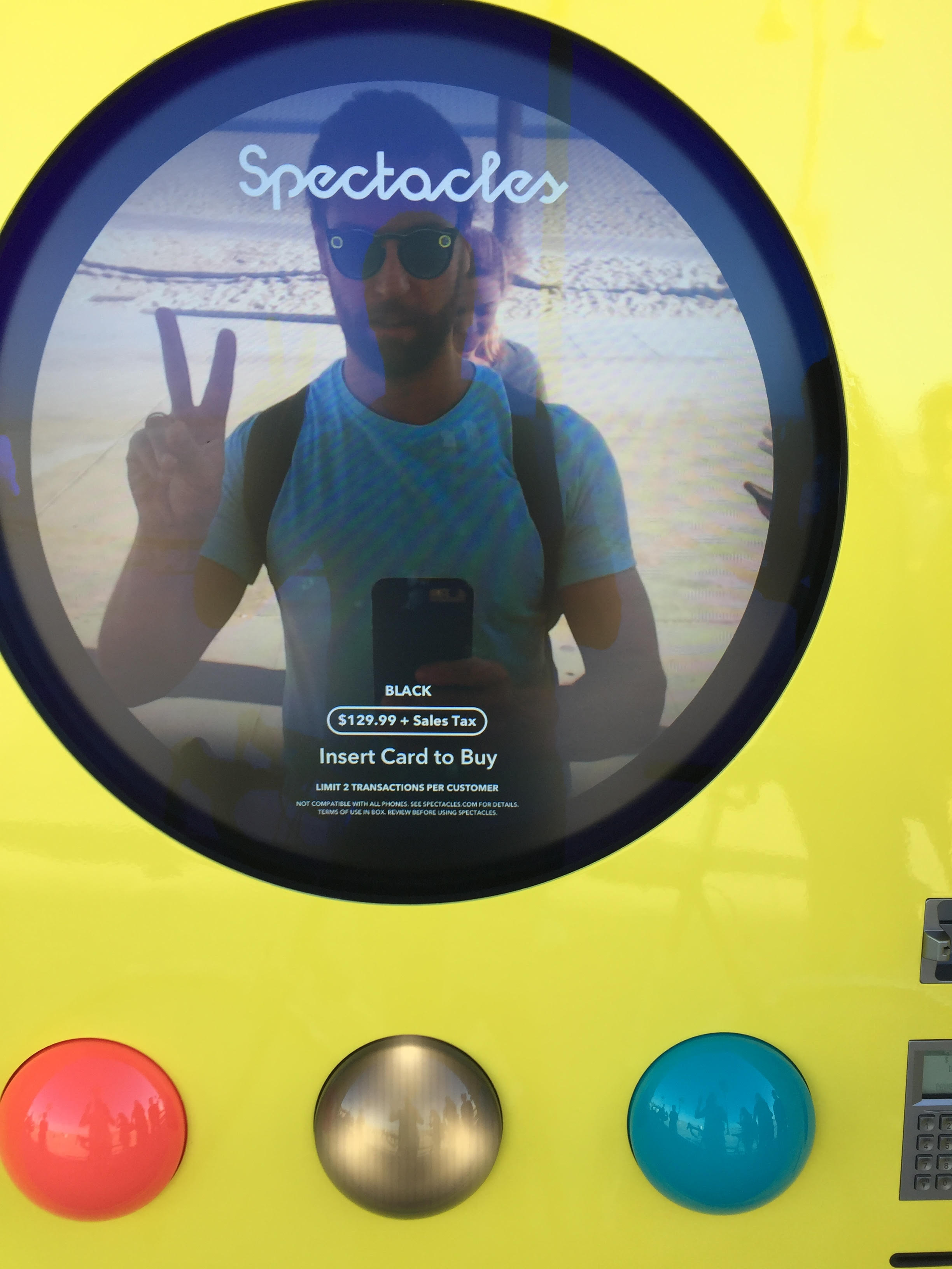 Ready To Buy Snapchat Spectacles From The Popup Vending Machine