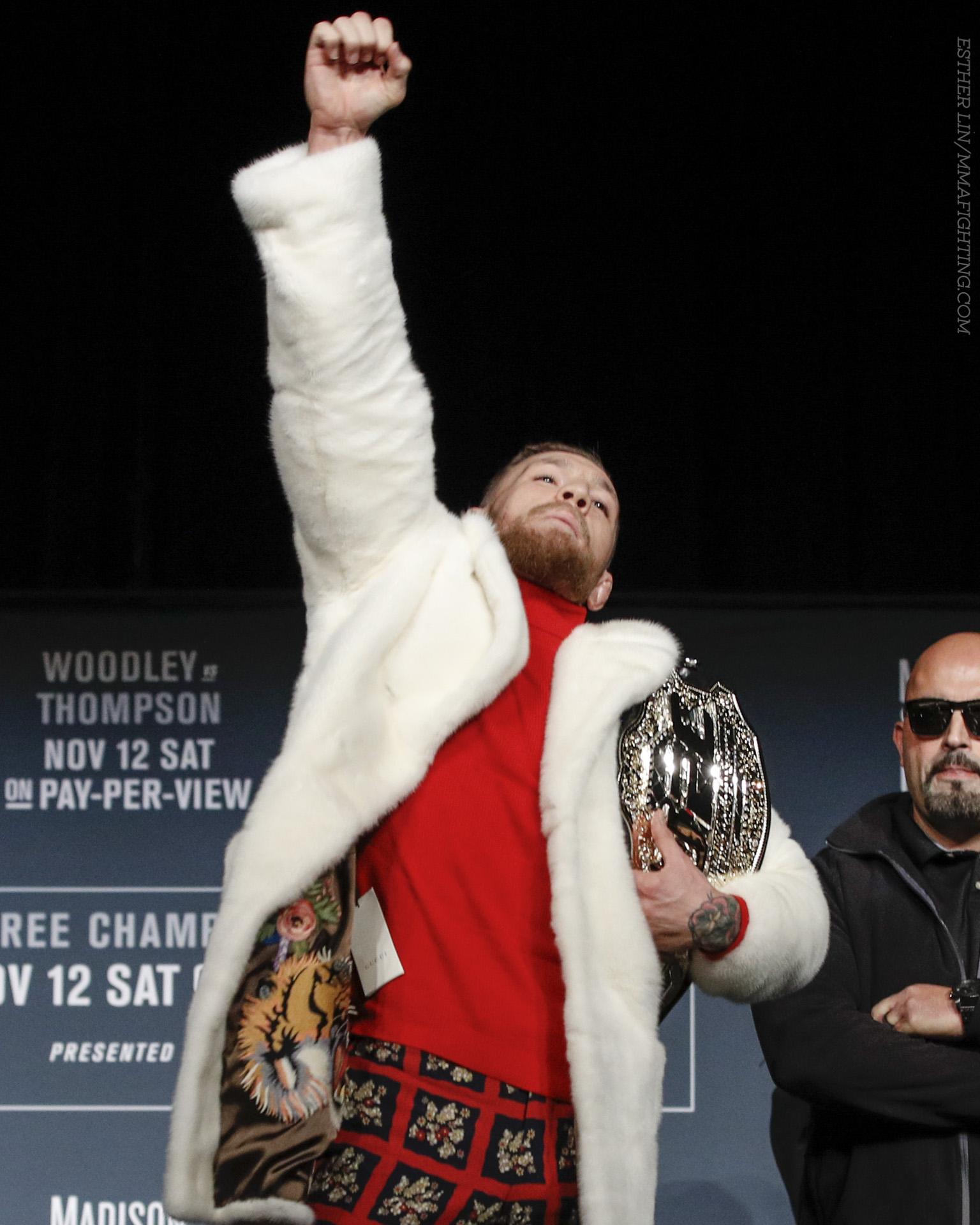 UFC 205 press conference photos