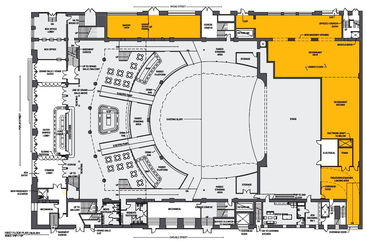 Opera House Floor Plan Numberedtype