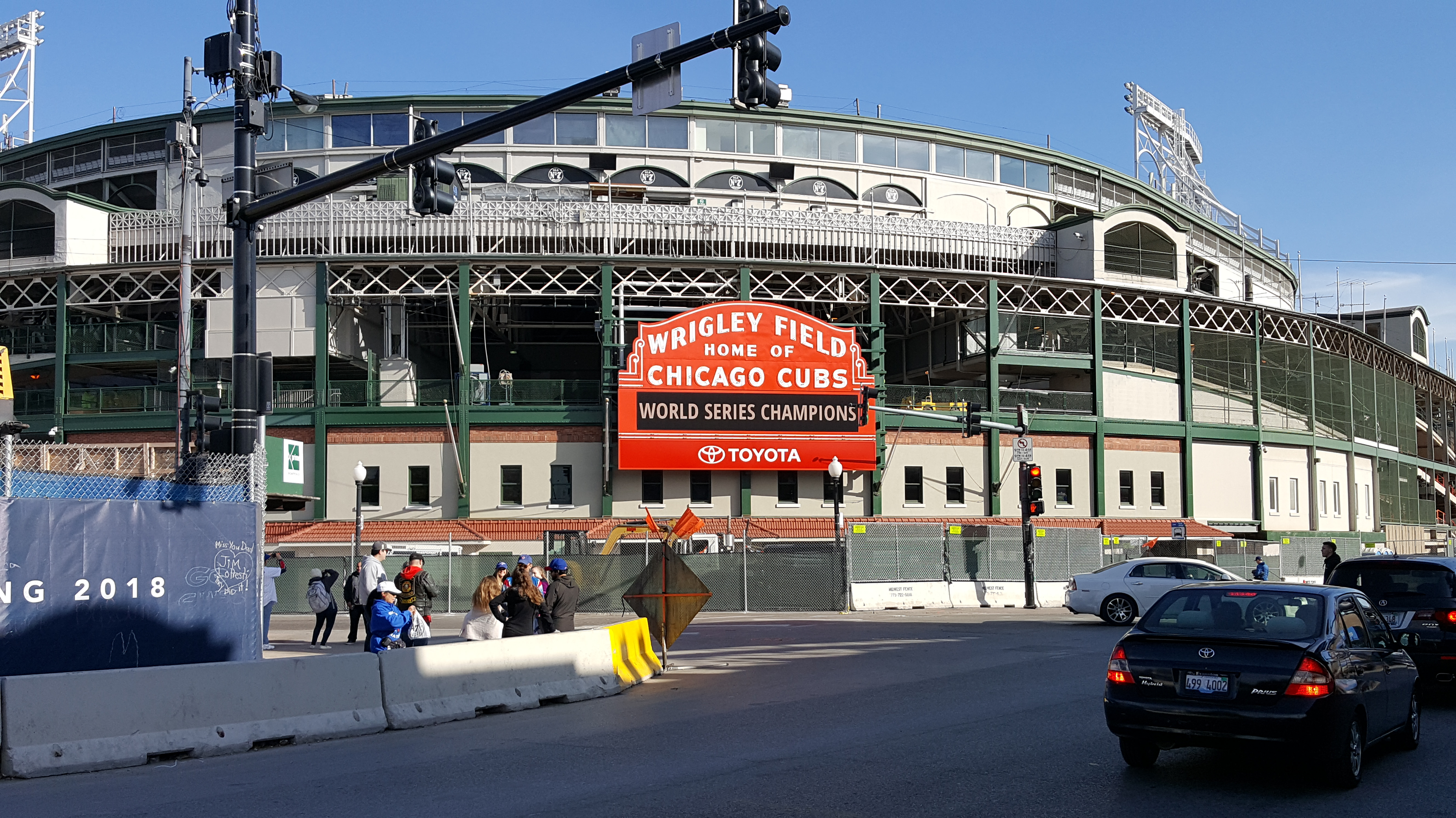 Wrigley Field Construction Update November 14 Bleed