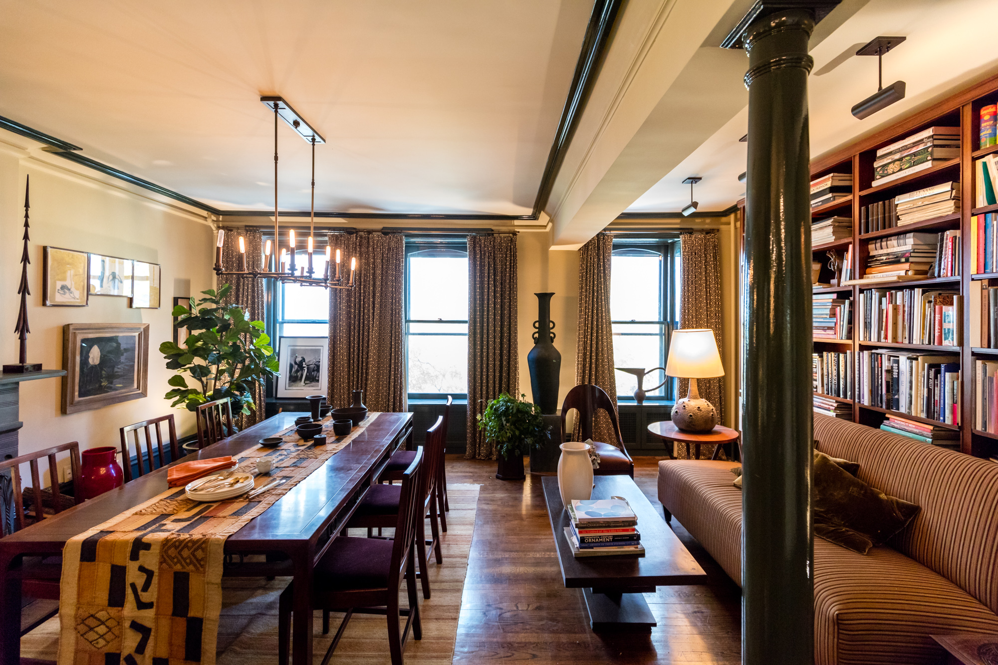 Glenn Gissler House Calls Brooklyn Heights. 7 stunning NYC dining rooms to inspire you this holiday season