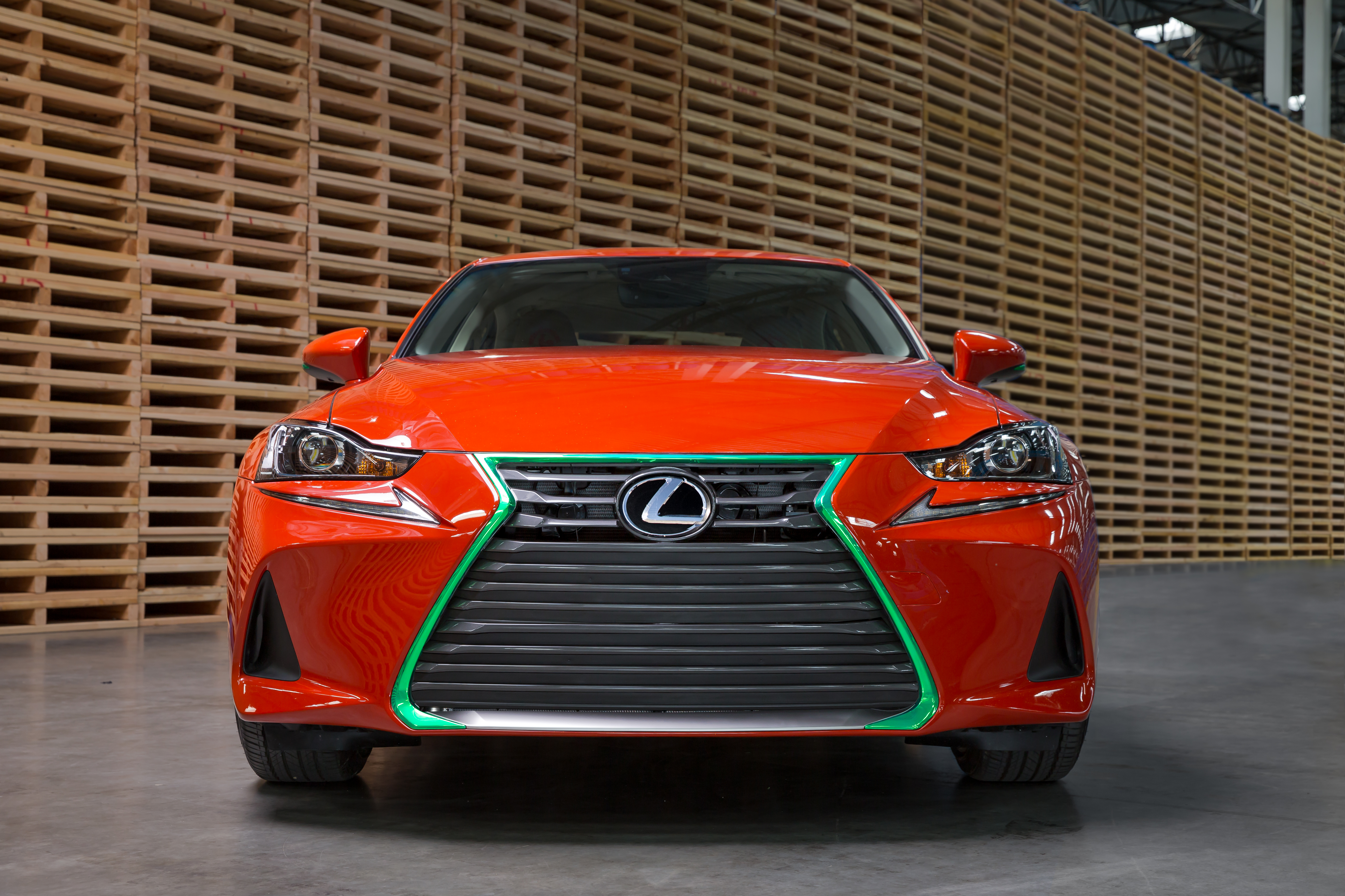 New SrirachaInspired Lexus Comes With A Trunk Full Of Hot Sauce - Hot sports cars