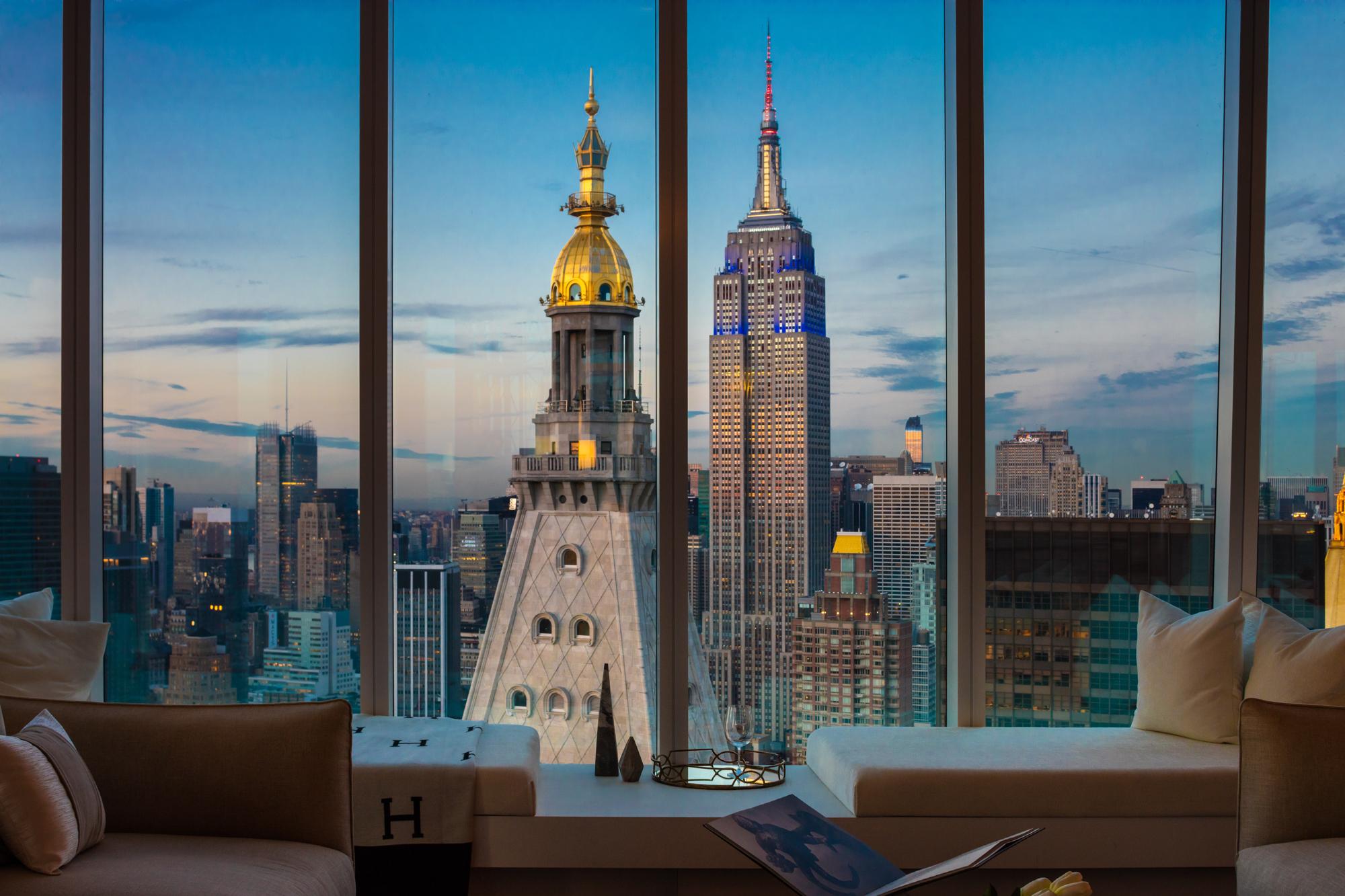 Flatiron S Tallest Tower Reveals Its Stunning 55th Floor