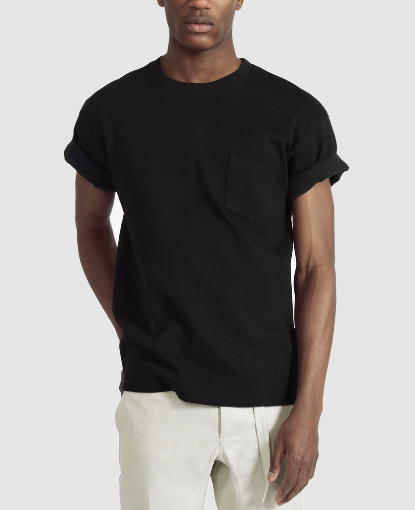 Men s clothing brands beyond j crew and bonobos racked for Model black t shirt