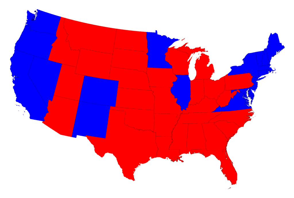 Will The Election Change Our Thinking On Cities Curbed - Us election millennials map