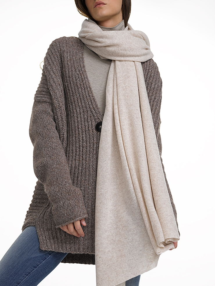 Scarves that double as airplane blankets racked for Travel scarf