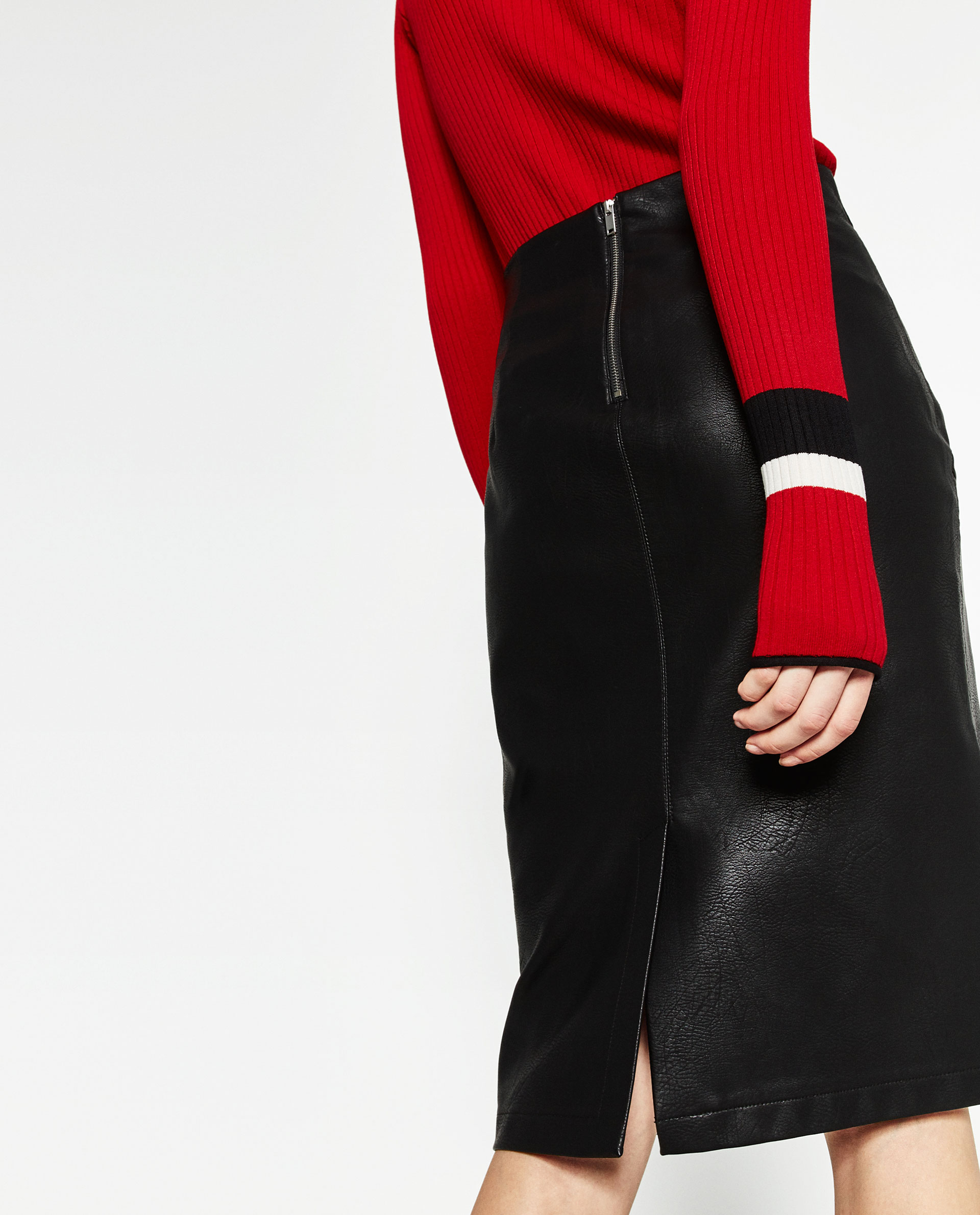 The Faux Leather Pencil Skirt That Passes for the Real Deal - Racked