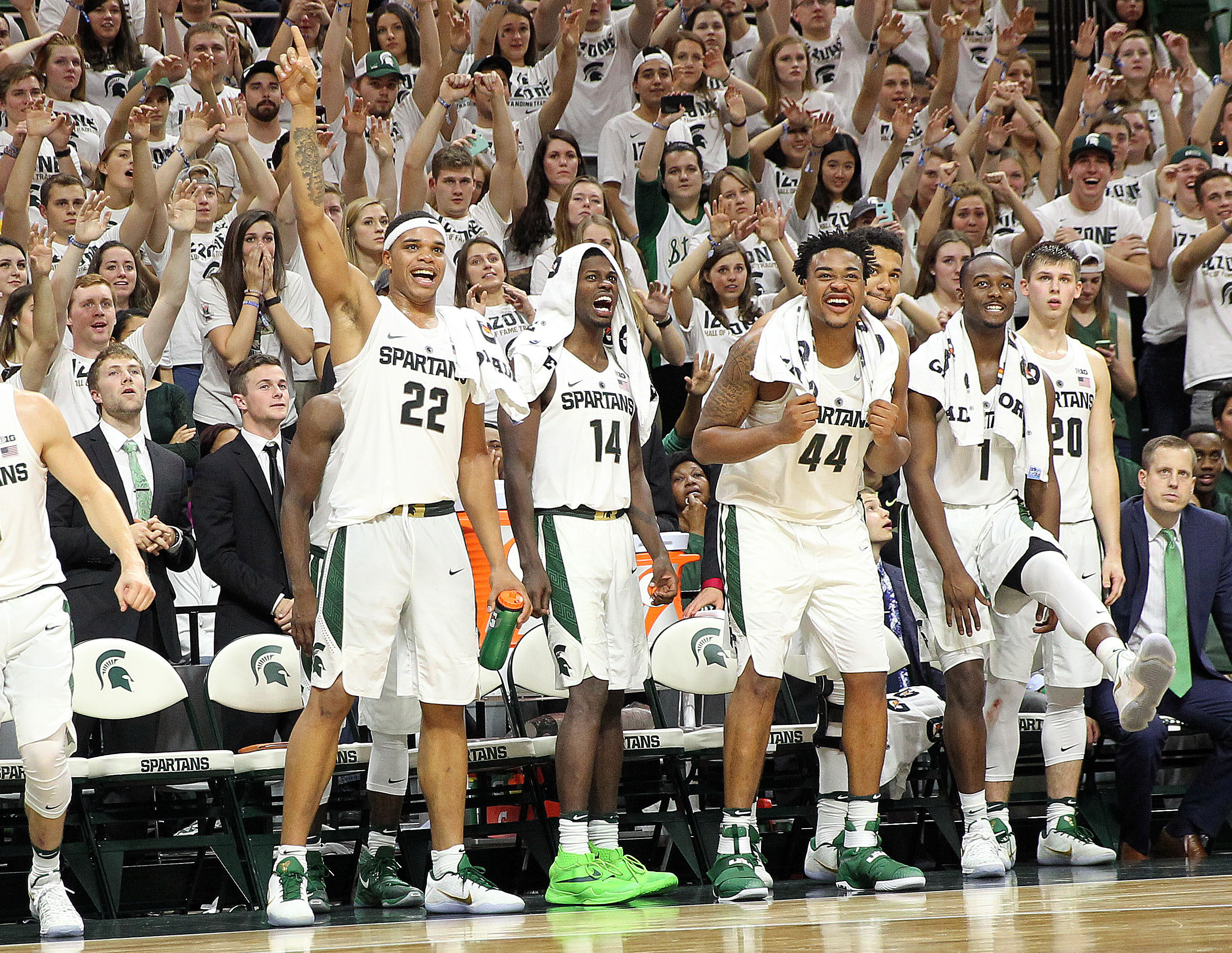 Michigan State Basketball >> Michigan State Basketball Preview St Johns The Only Colors