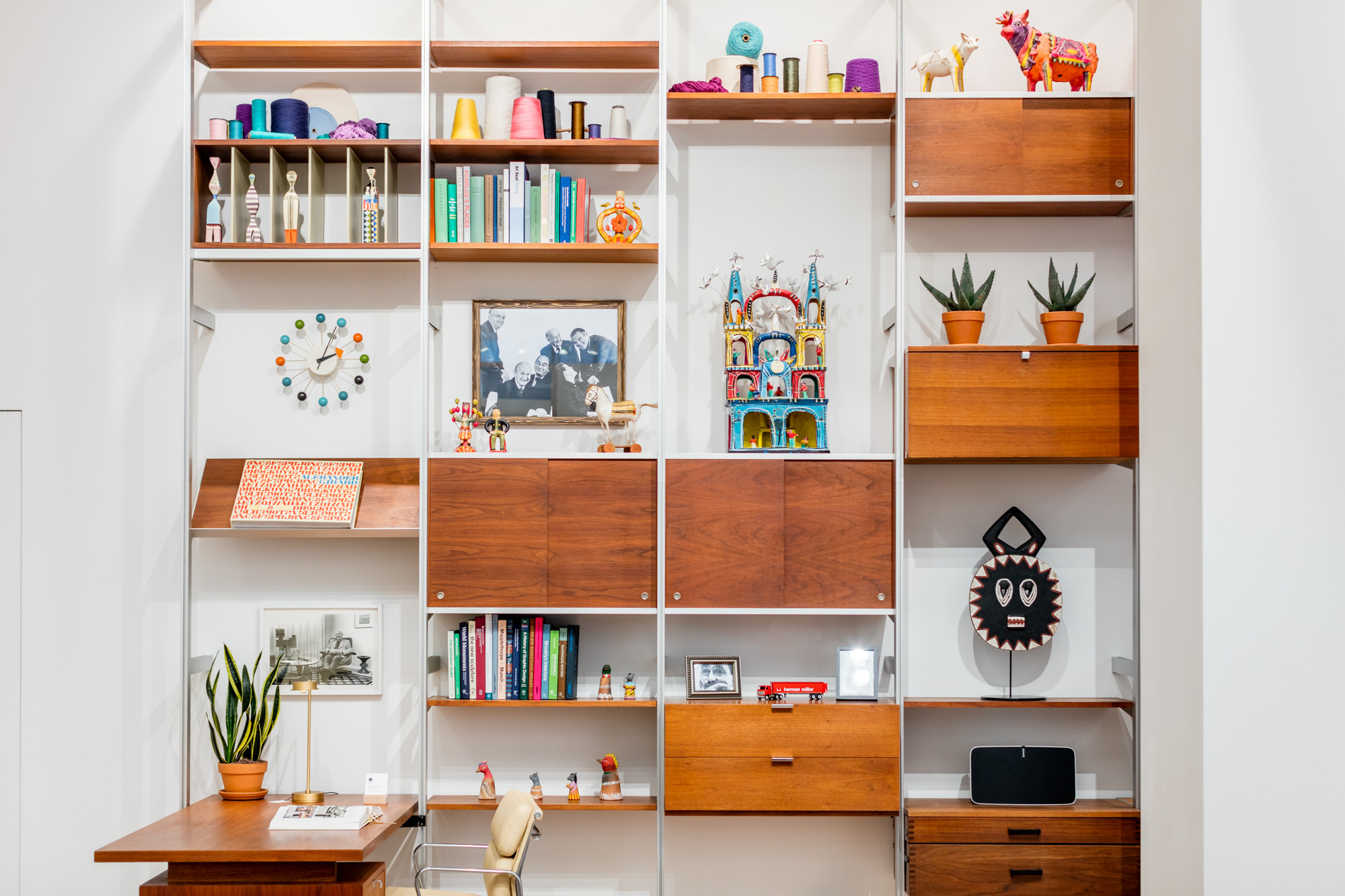 herman miller unveils its nyc flagship full of midcentury  - herman miller unveils its nyc flagship full of midcentury silhouettes