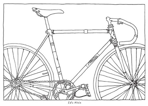 a bicycle coloring book by taliah lempert - Bicycle Coloring Book