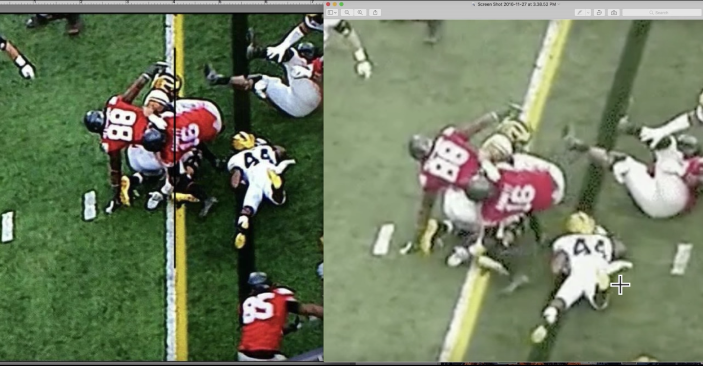 This Ohio State fan's video might convince even a Michigan fan that the call was right