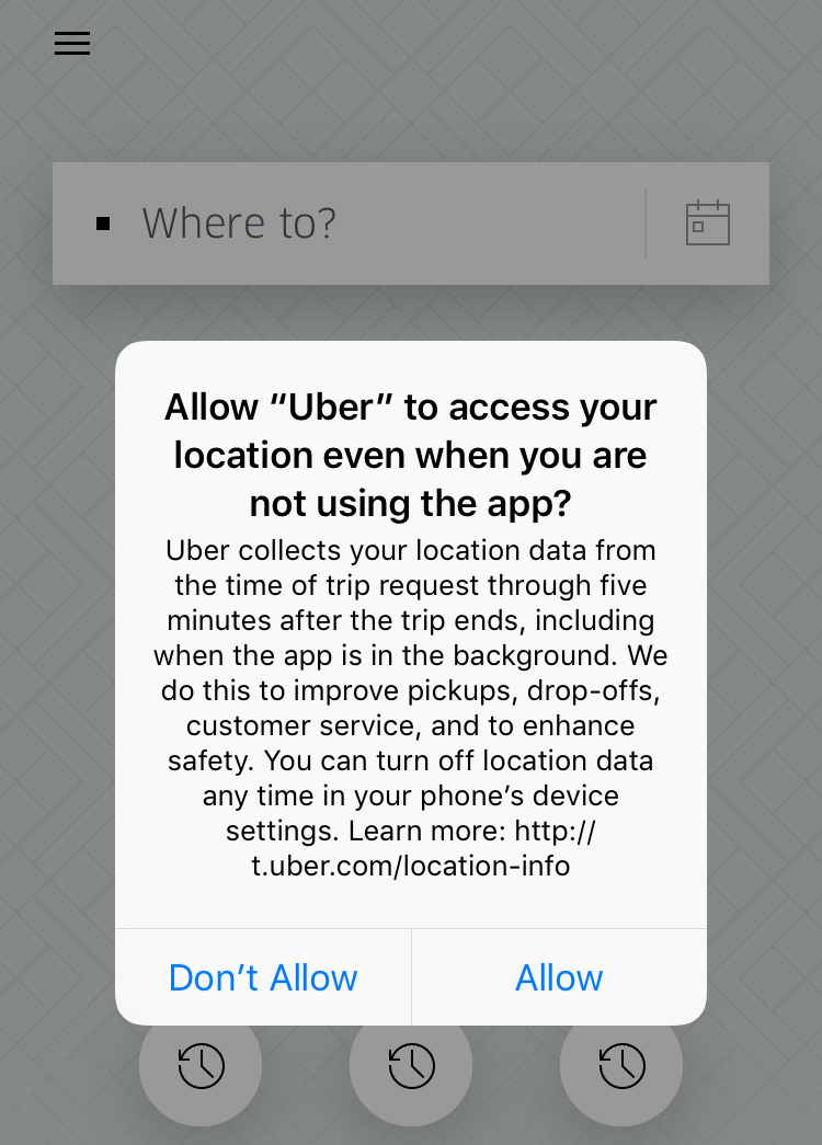 Uber wants to track your location even when you're not using the ...