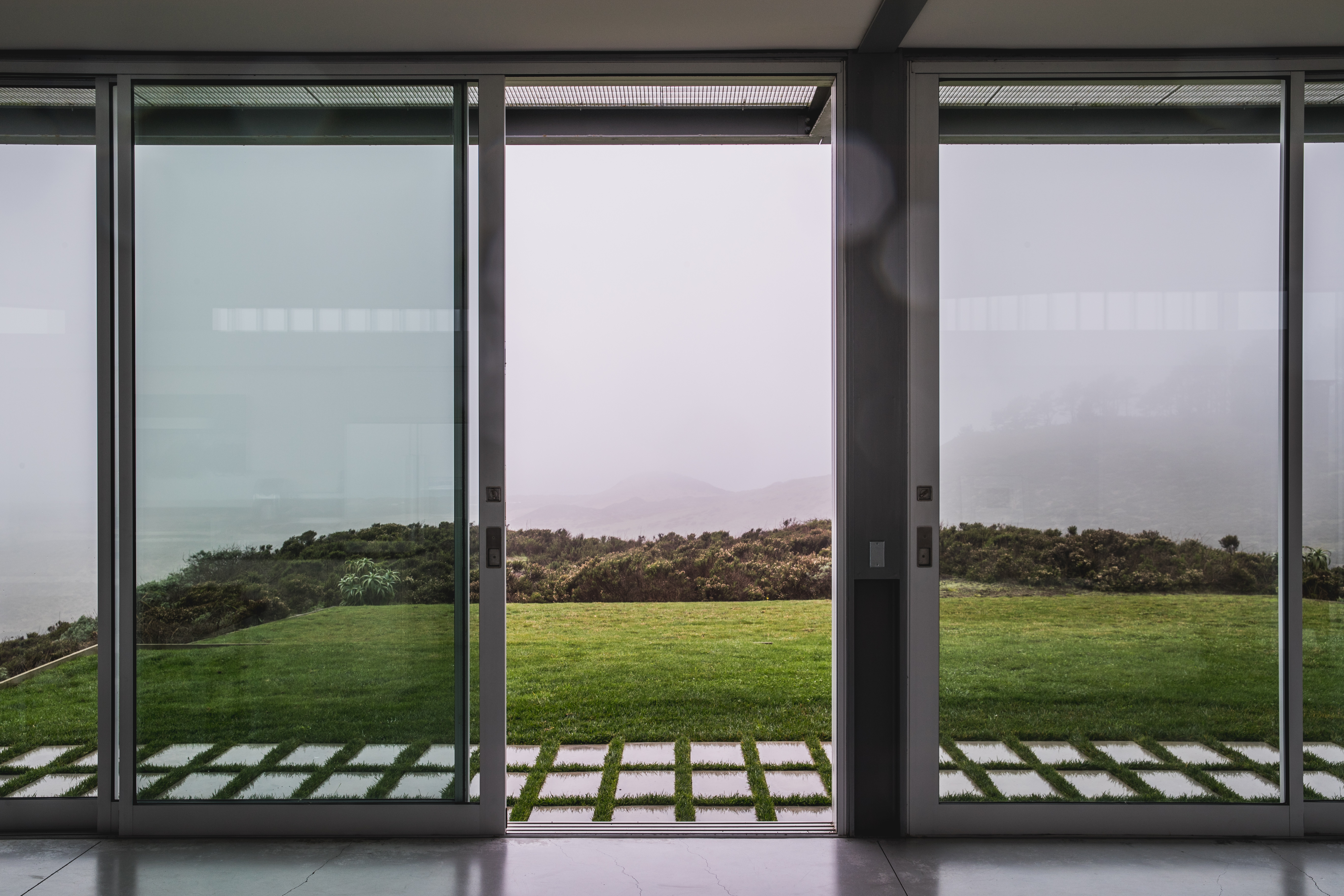 take in the views from inside this glass house curbed