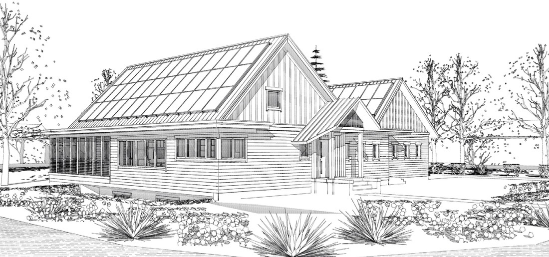 This Sustainable Suburban Home Can Power A Pair Of