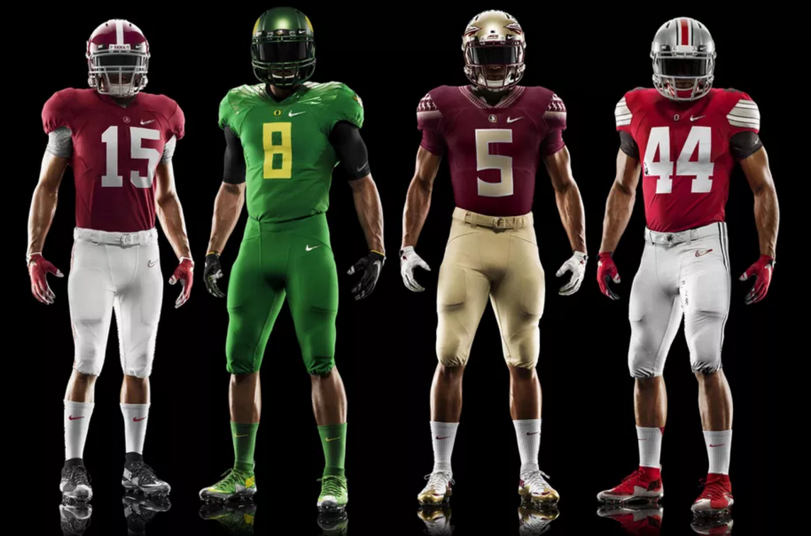 a2260bff0 For the fourth consecutive year, only Nike-outfitted teams will ...