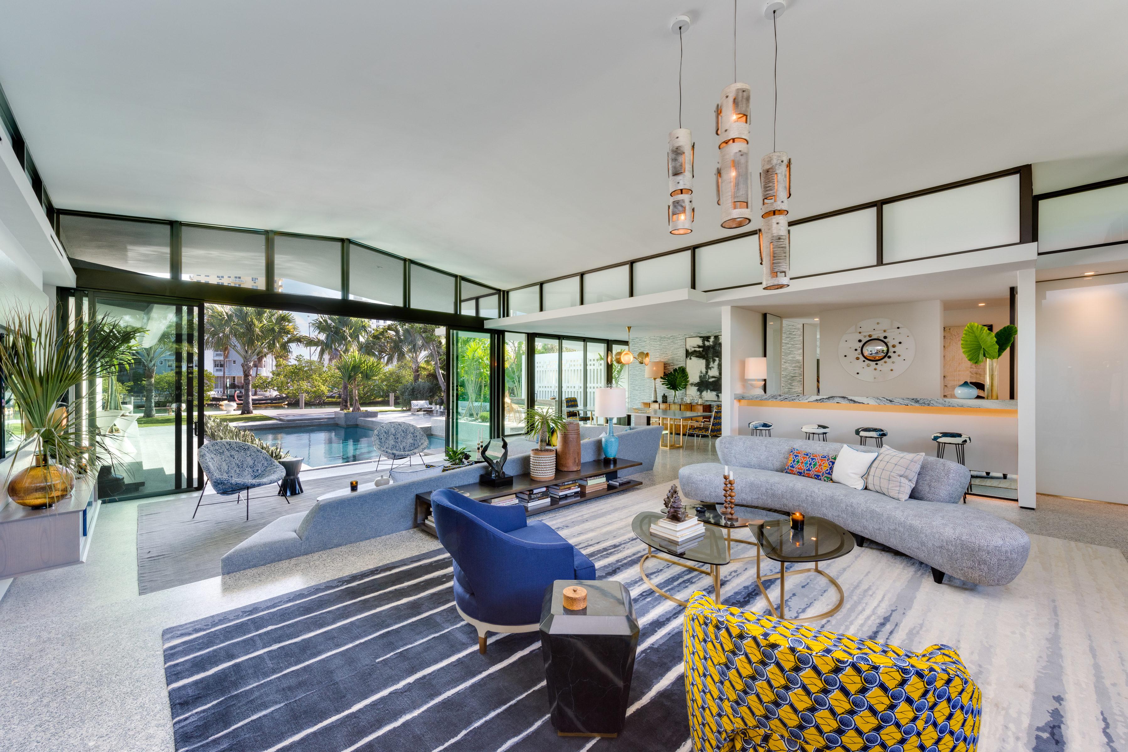 Design Mid Century Modern jean louis deniots midcentury modern home in miami beach seeks 8 5m