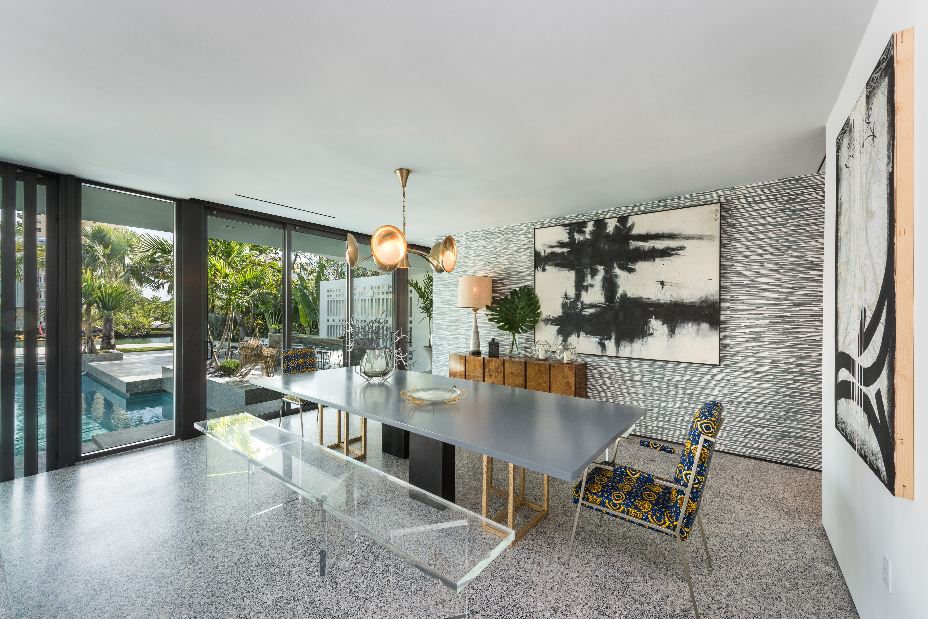 Mid century modern dining room midcentury dining room miami by - Jean Louis Deniot S Midcentury Modern Home In Miami Beach Seeks 8 5m