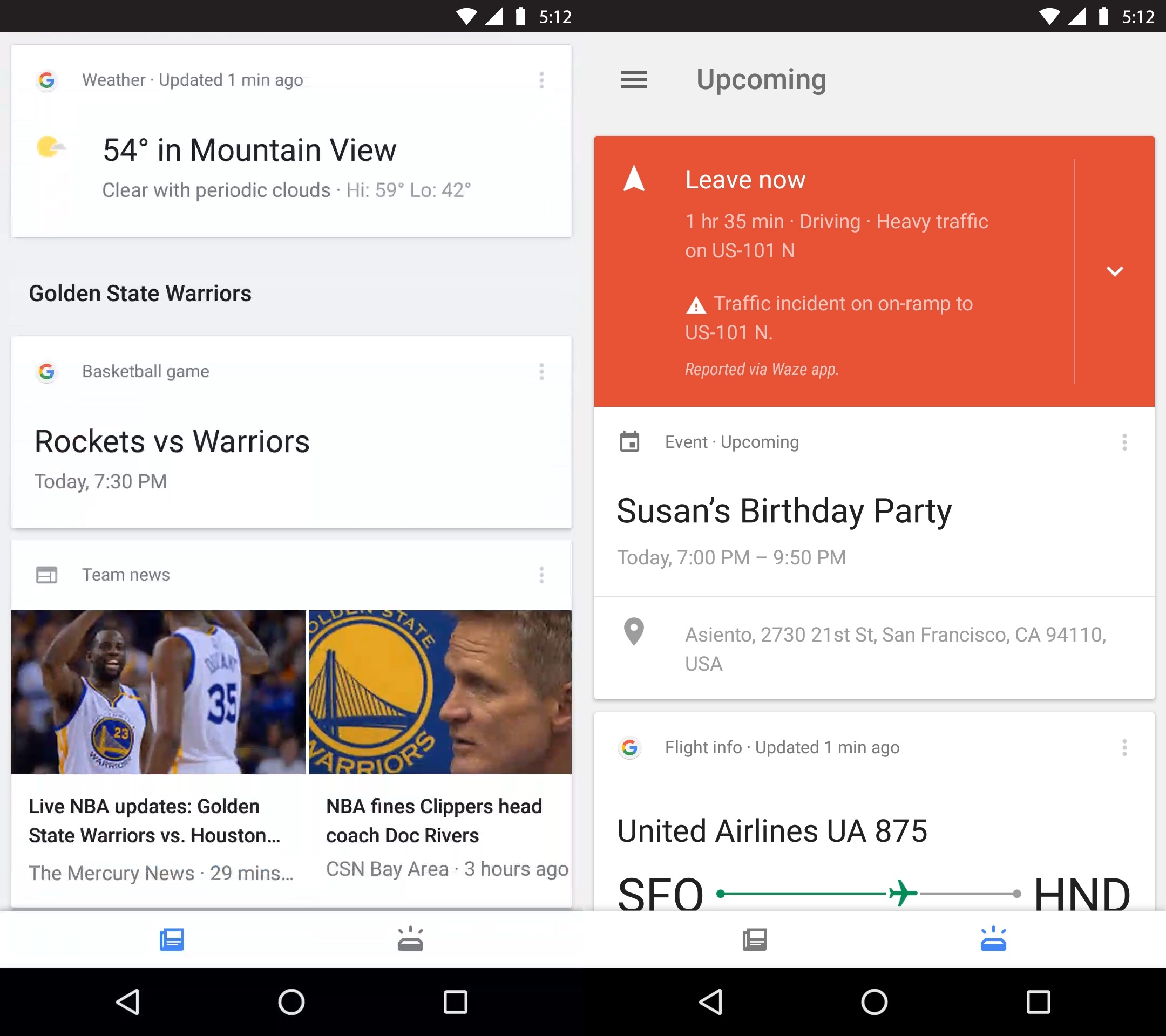Google Has Already Been Presenting News Cards In The Google App For Some  Time Now So This Is Simply A Reorganization That Makes It Easier To