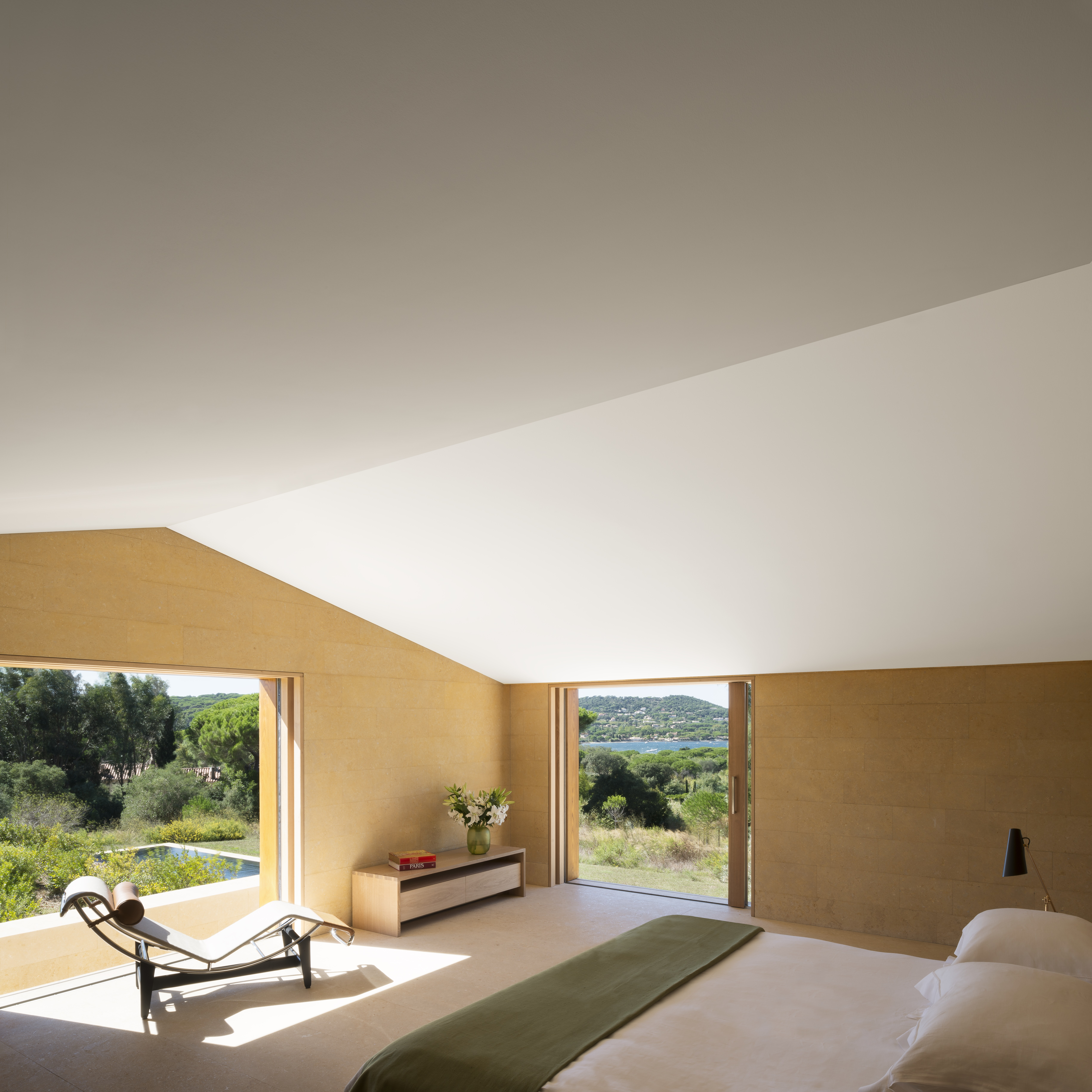 Gorgeous Minimalist Villa In Saint Tropez Now For Sale