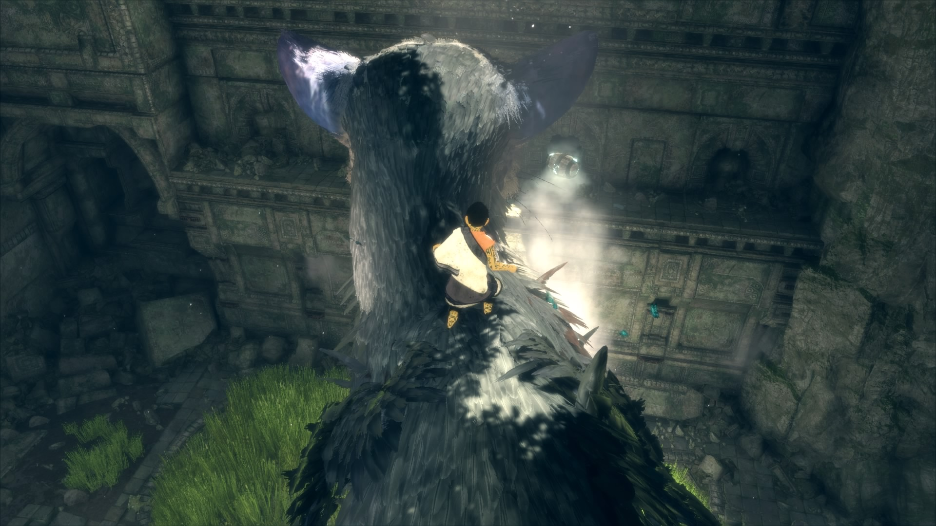 the last guardian walkthrough part 1  waking trico and breaking out