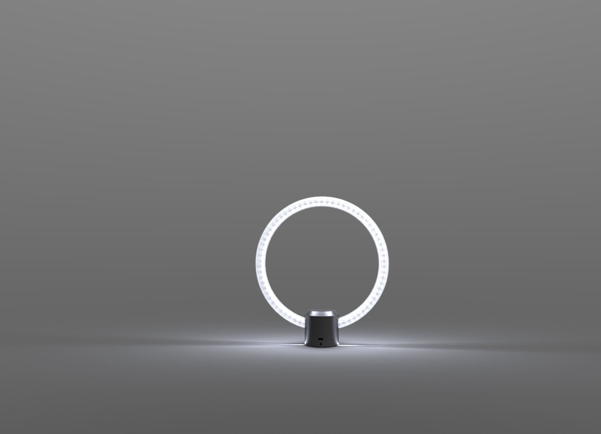 Ge made a circular lamp with alexa in it the verge ge led lamp with alexa parisarafo Choice Image