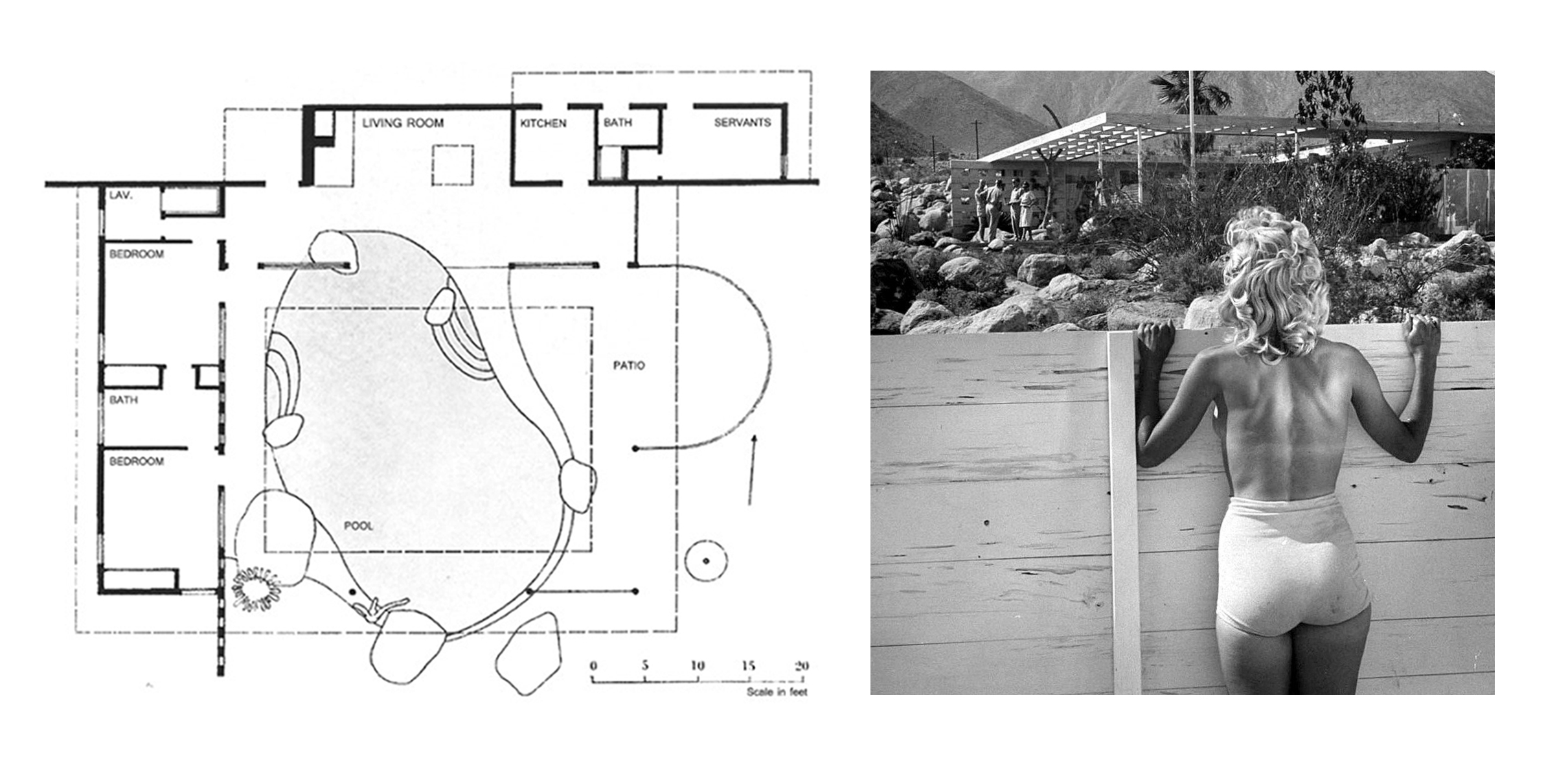 Tour An Iconic Palm Springs Home The Loewy House In 3d
