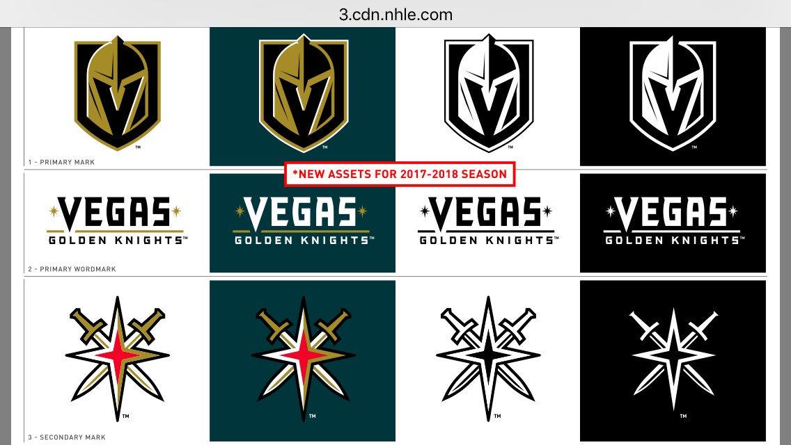 The Vegas Golden Knights' trademark application was denied weeks ...